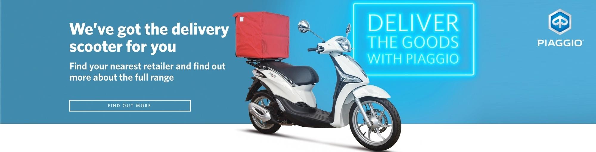 Piaggio Delivery Scooter